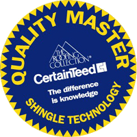 CertainTeed Quality Master Shingle Technology Seal